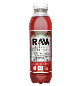 RAW Superdrink Strawberry & Mint | 6 stuks