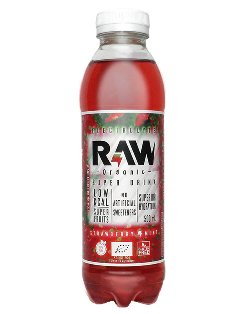 Raw Superdrink Raw Superdrink Strawberry and Mint