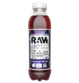 RAW Superdrink Blueberry & Acai | 6 stuks