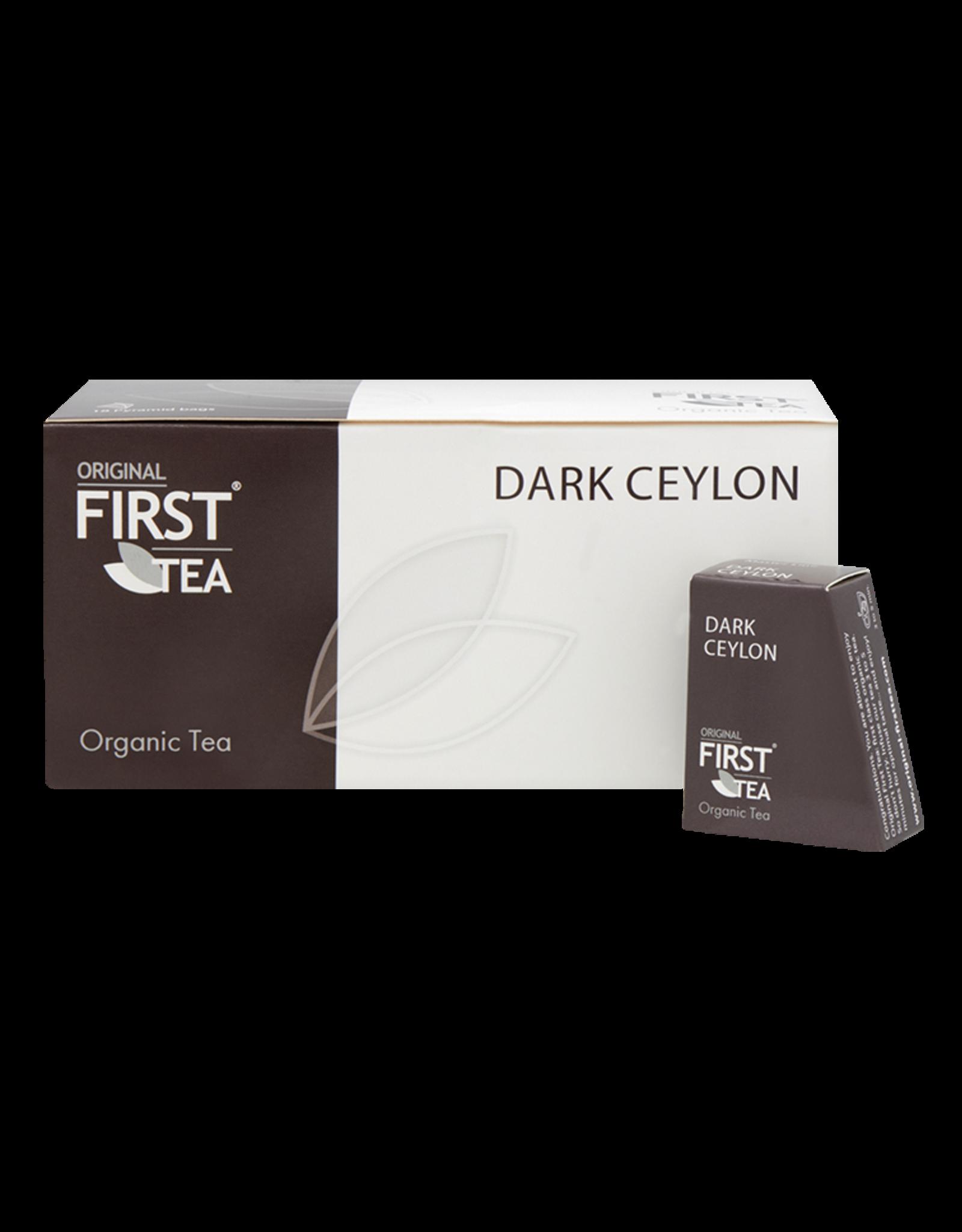 First Tea Master line Masterline Dark Ceylon