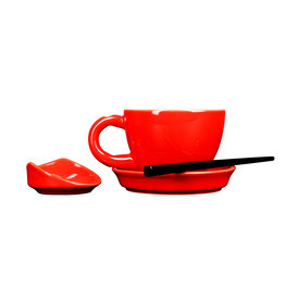First Tea Master line Tea Cup | Red