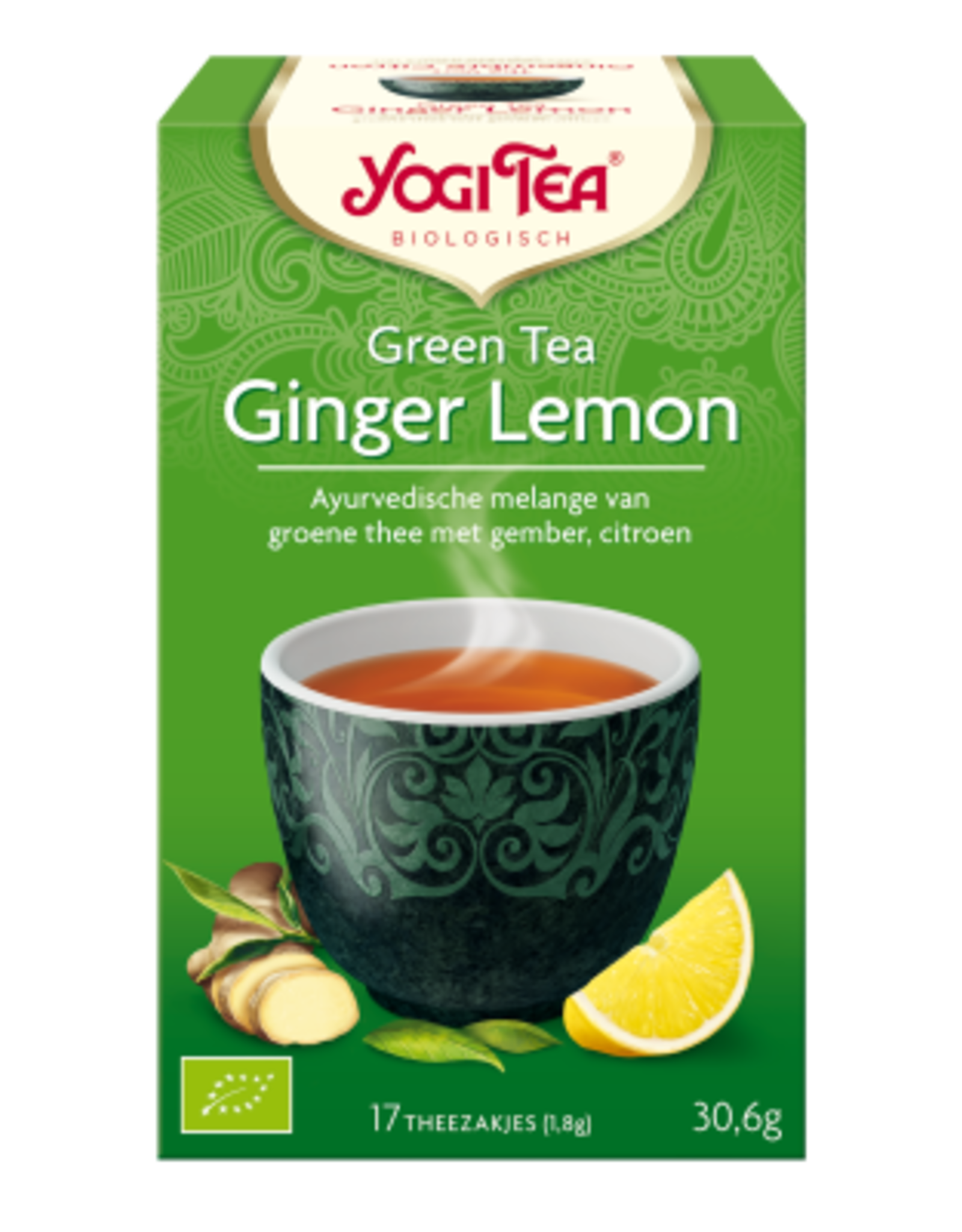 Yogi Tea Yogi Tea Green Tea Ginger Lemon