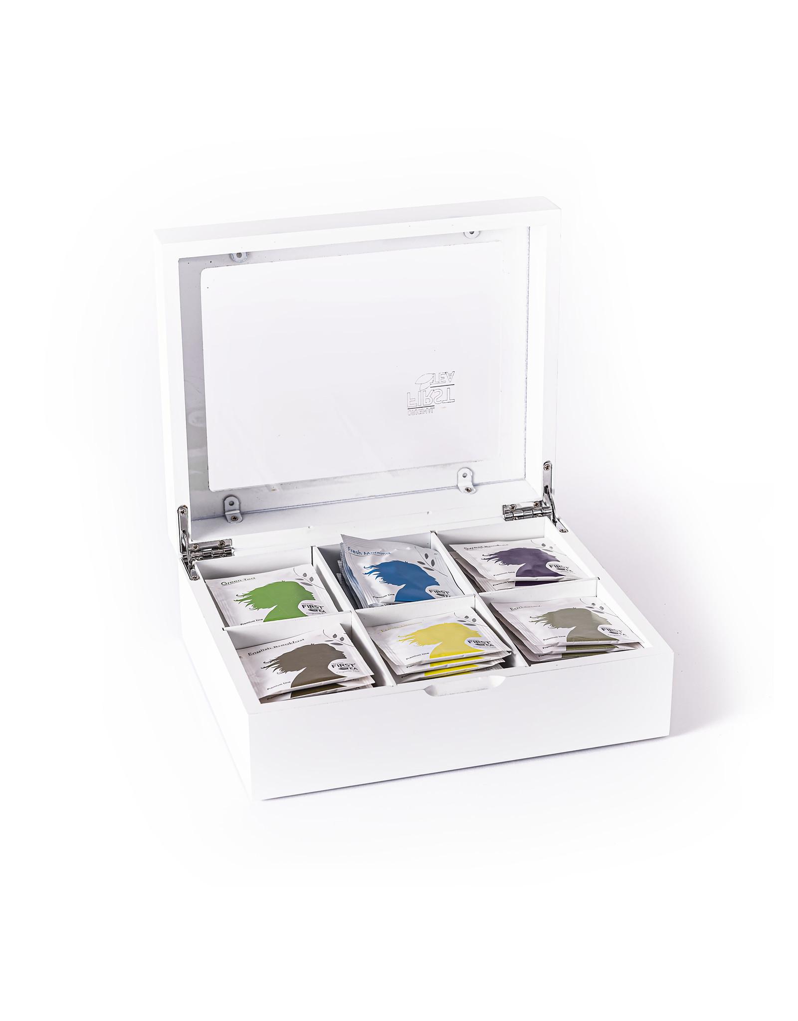 First Tea Premiumline Theedoos Premium Line 6 vaks