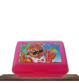 Cool Bear Cool Bear broodtrommel | Roze