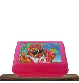 Cool Bear Cool Bear lunchbox | Pink