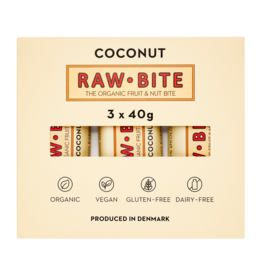 RAWBITE Coconut | 3 pieces