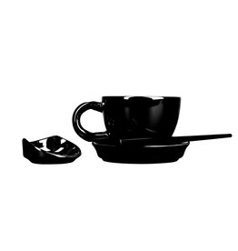 First Tea Master line Tea Cup | Black
