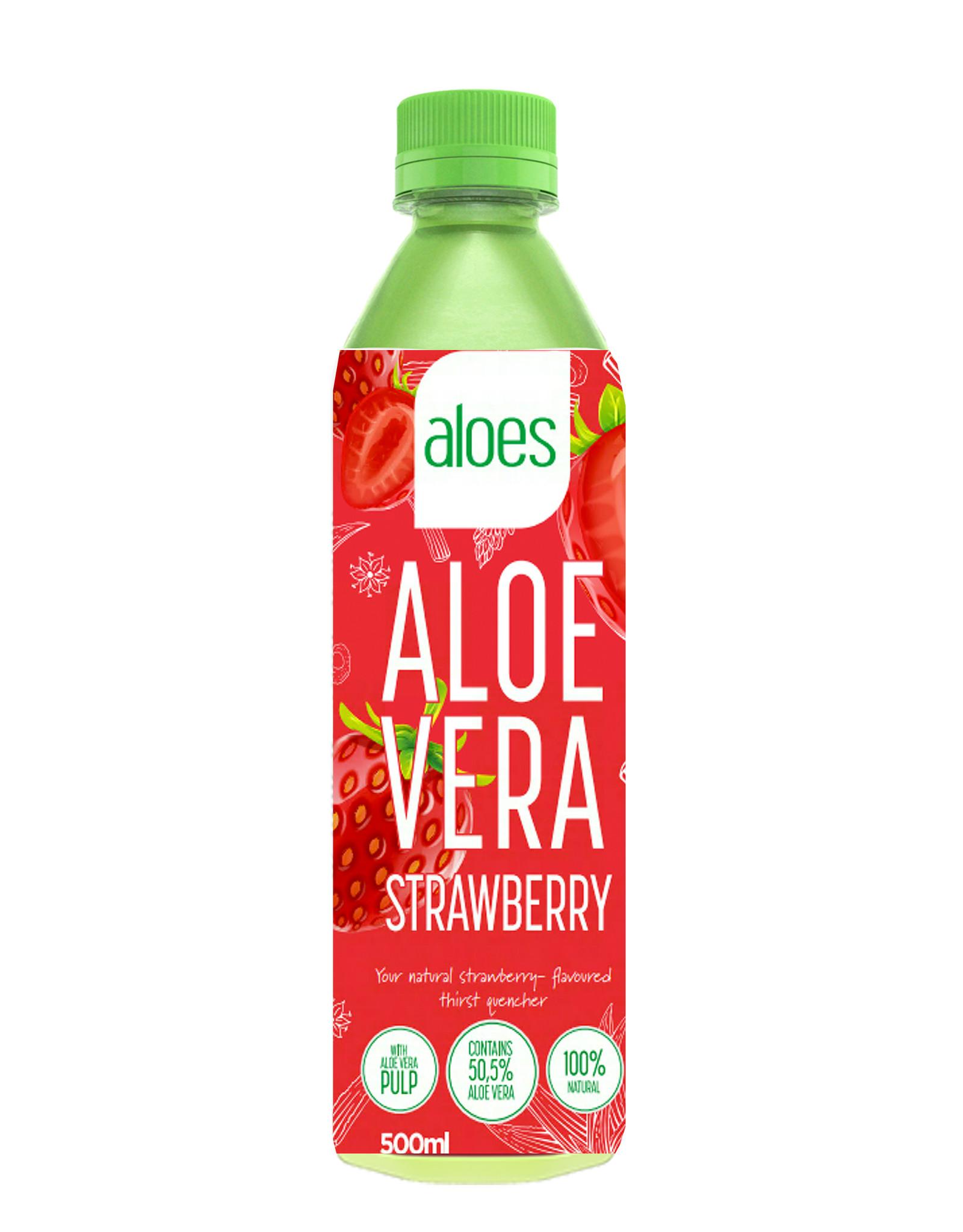 Aloës Aloës Aloe Vera Strawberry