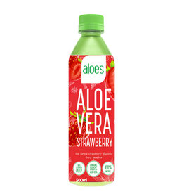 Aloës Aloe Vera Strawberry | 6 pieces