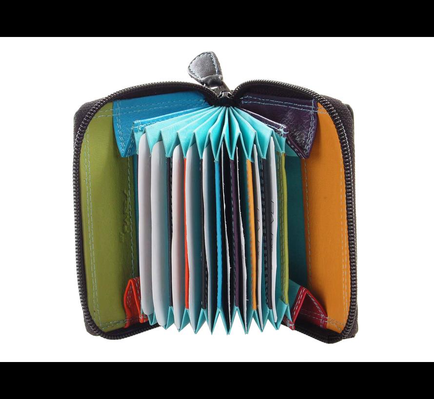 Pia Ries - Creditcardhouder 553 Leer - Multicolor