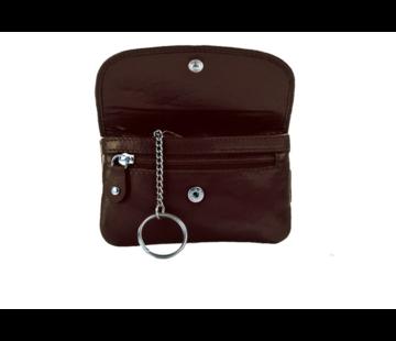 Pia Ries Pia Ries - Kleine portemonnee met sleutel hanger 459-1 Leer - Zwart