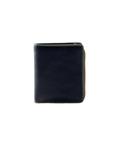 Pia Ries Pia Ries - Billfold 863-9 Colored Edge Leer - Groen