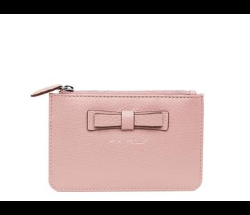 Pia Ries Kleine portemonnee voor munten, kaarten en een sleutel - Pastel Roze