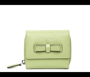 Pia Ries Compacte maar ruime portemonnee - Pastel Groen