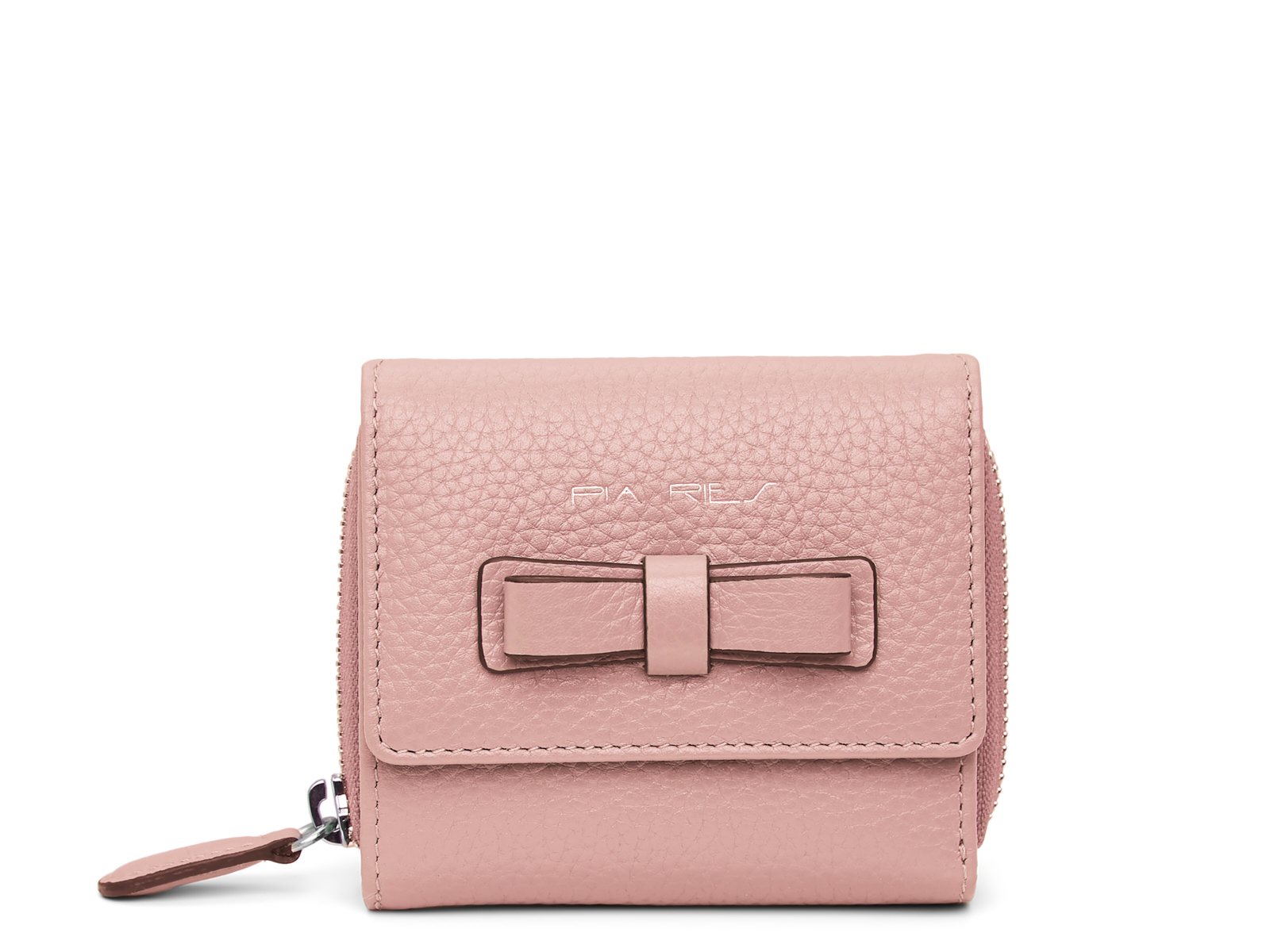 Compacte maar ruime portemonnee - Pastel Roze