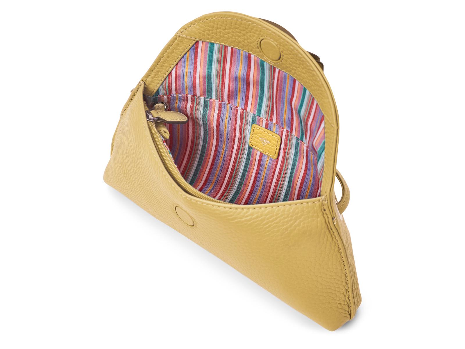 Kleine Crossbody tas - Pastel Geel