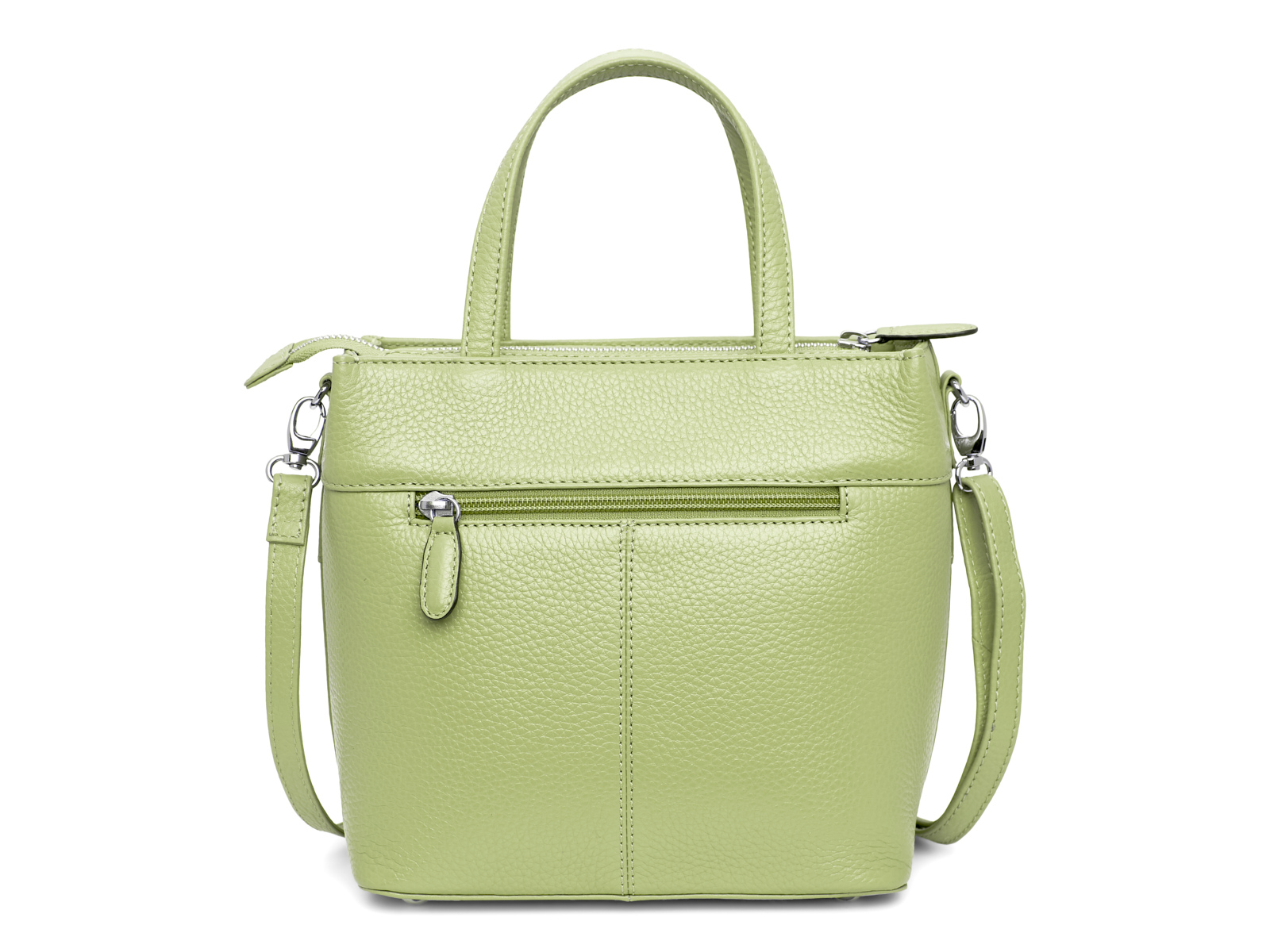 Handtas met lange schouderriem - Pastel Groen