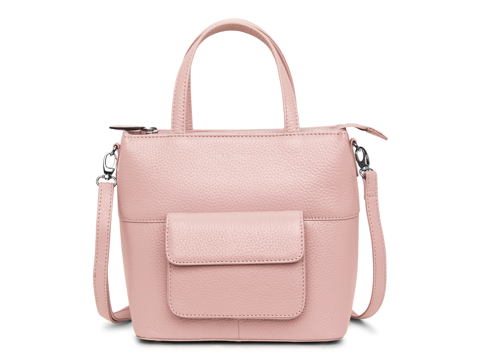 Handtas met lange schouderriem - Pastel Roze