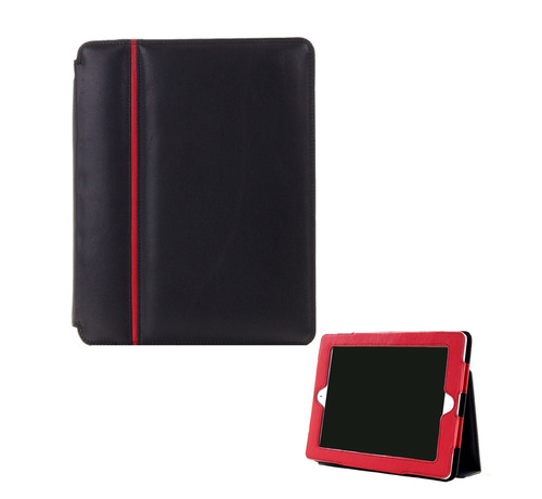 Pia Ries Pia Ries Ipad 2/3/4 cover zacht leer - Rood