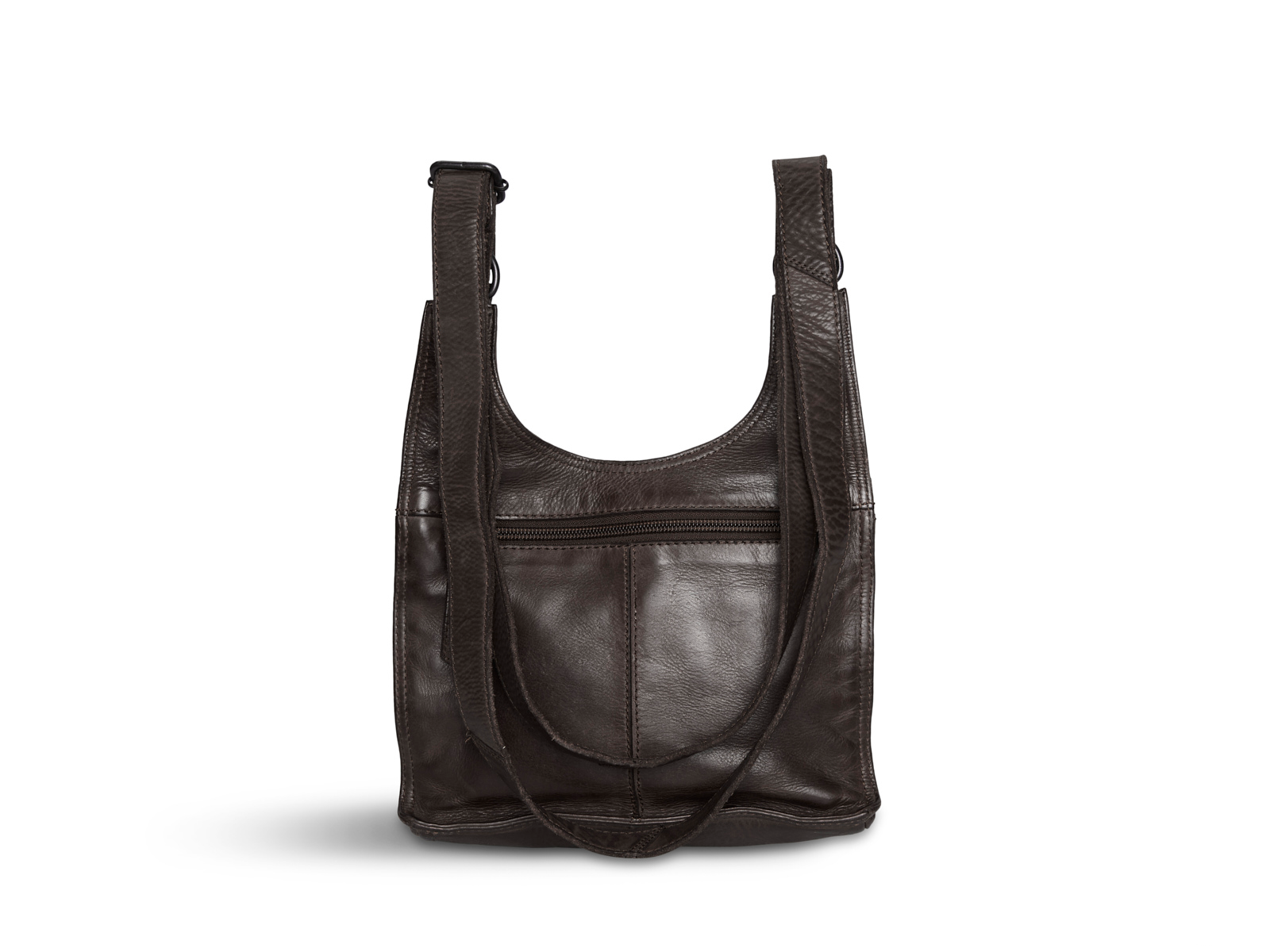 Pia Ries - Crossbodytas Washed - Bruin