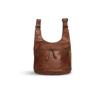 Pia Ries Pia Ries - Crossbodytas Washed - Cognac