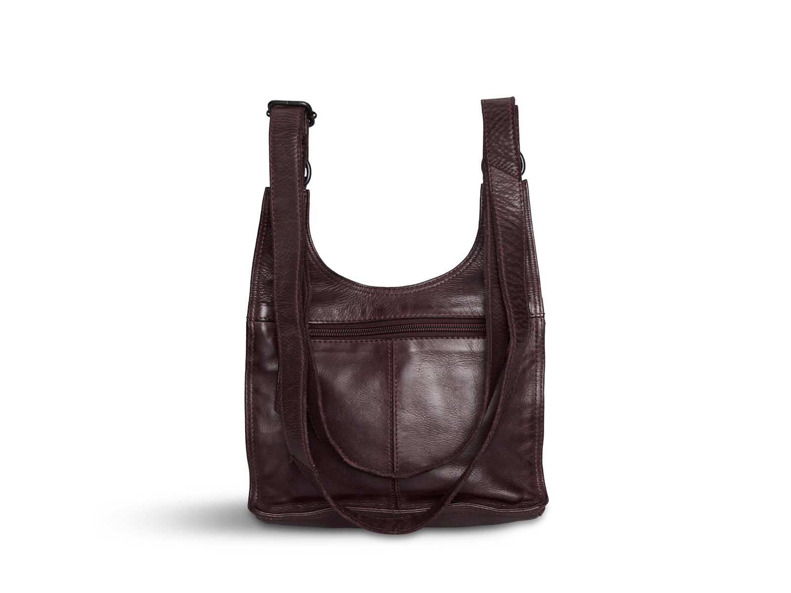 Pia Ries - Crossbodytas Washed - Bordeaux
