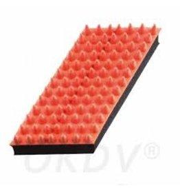 tools 2 groom rubber massageborstel in dropvorm