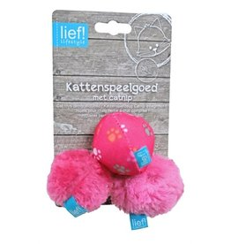 Lief! Lief! softbal girls met catnip roze