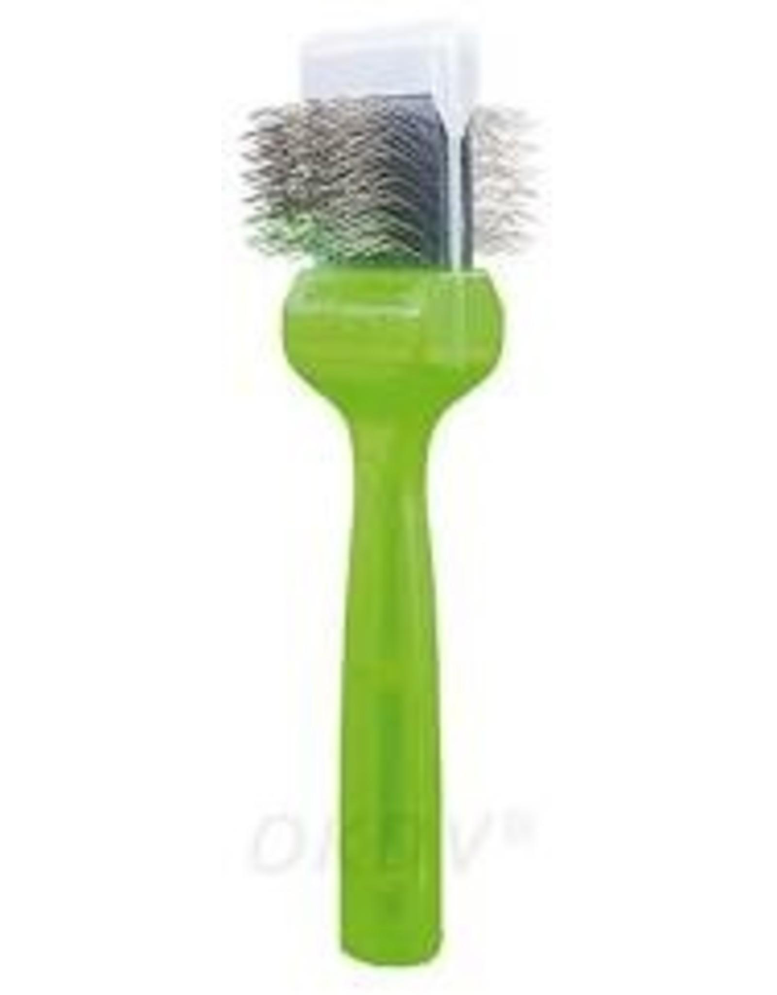 activet slicker borstel activet groen