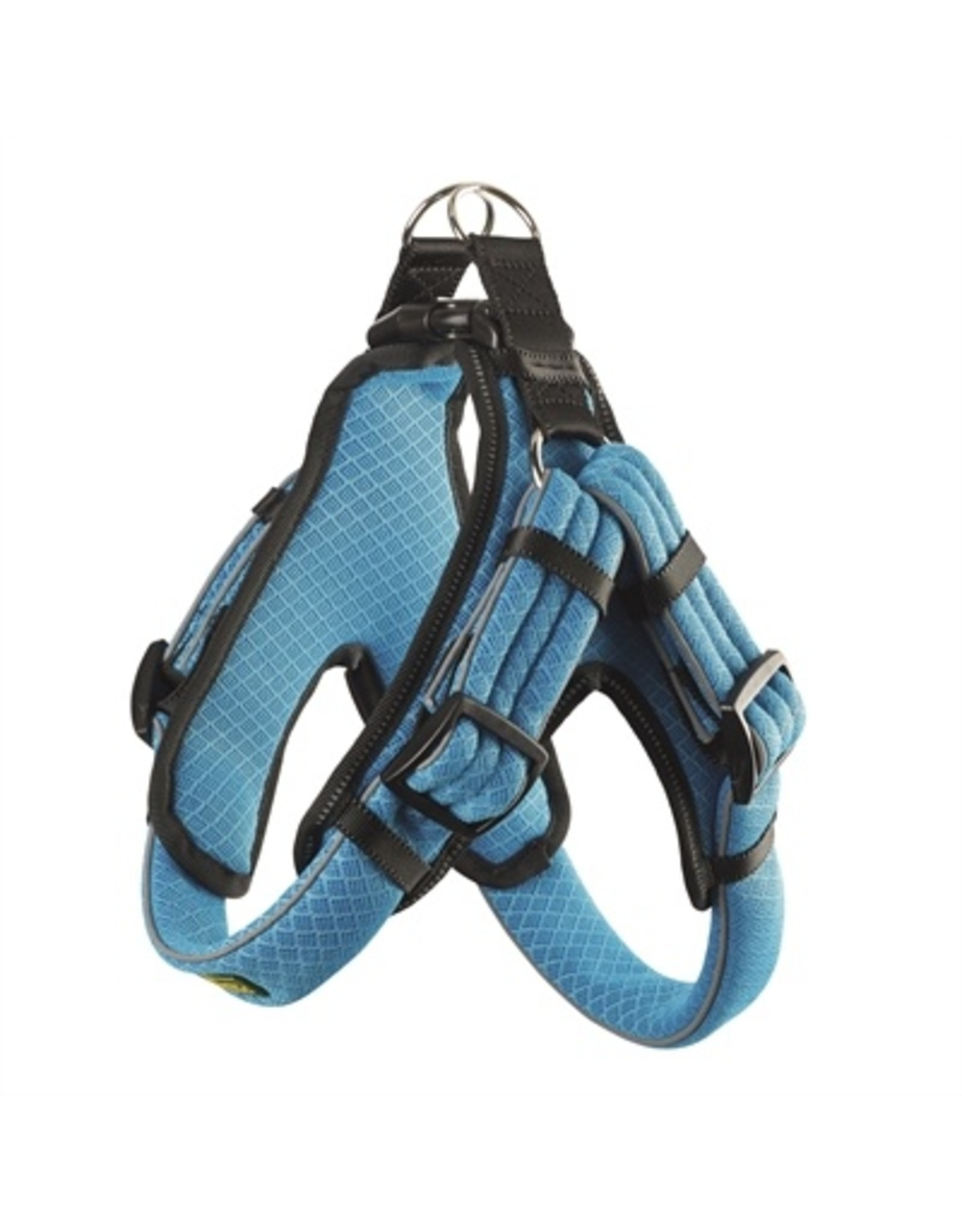 Hunter Hunter hondentuig manoa vario quick light mesh blauw / zwart