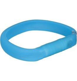 trixie Trixie halsband usb flash light lichtgevend oplaadbaar blauw