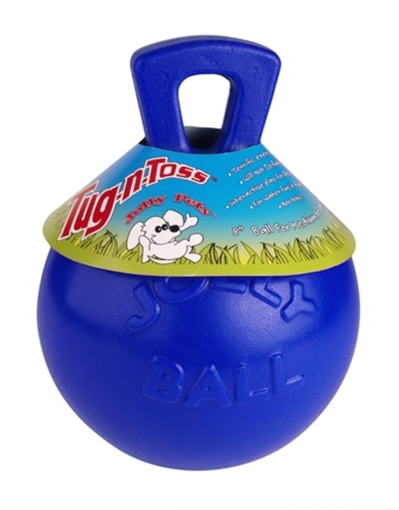 Jolly Jolly tug-n-toss bal blauw