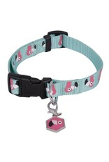 Ministry of pets Ministry of pets halsband hond flamingo met bedel