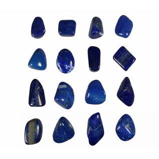 Lapis lazuli doorboorde hanger