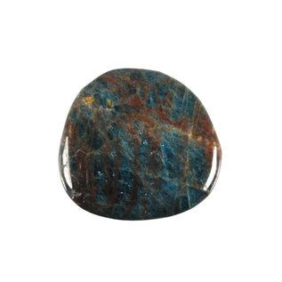 Apatiet (blauw) platte steen