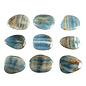 Aragoniet (blauw) platte steen