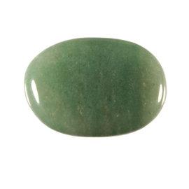 Aventurijn (groen) platte steen