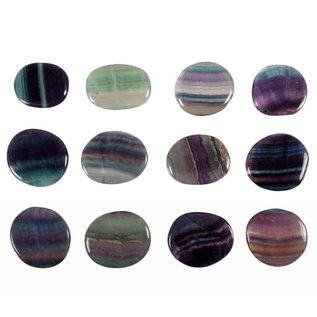 Fluoriet (multi) platte steen