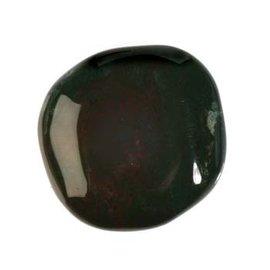 Heliotroop platte steen