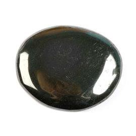 Hematiet platte steen