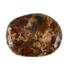 Jaspis (breccie) platte steen