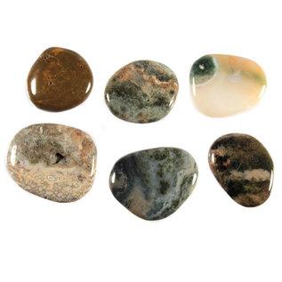 Jaspis (oceaan) platte steen
