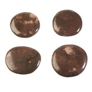 Jaspis (purper) platte steen