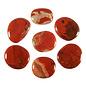 Jaspis (rood) platte steen
