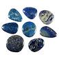 Lapis lazuli platte steen
