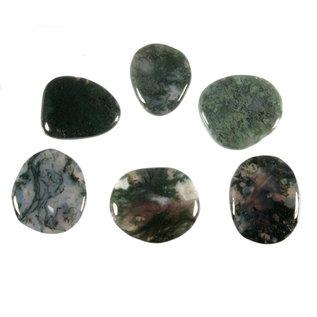 Mosagaat platte steen