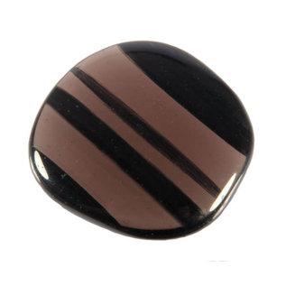 Obsidiaan (lamellen) platte steen