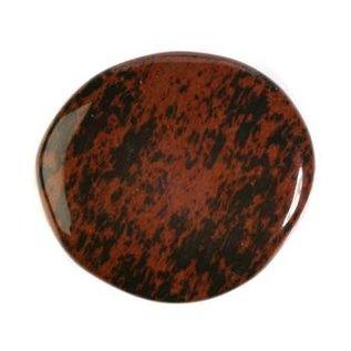 Obsidiaan (mahonie) platte steen
