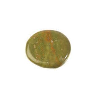 Opaal (groen) platte steen