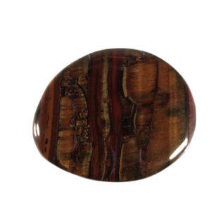 Tijgerijzer platte steen